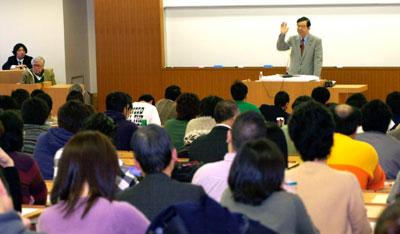 志位委員長が慶応大学で講義